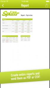 Splitr cost sharing