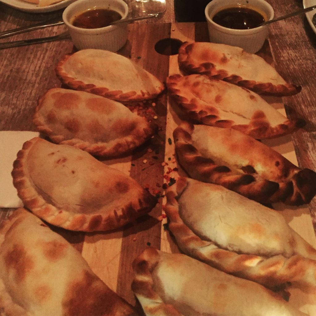 Empanadas from Chango in the UK