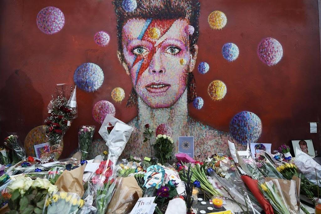 Brixton. David Bowies's mural