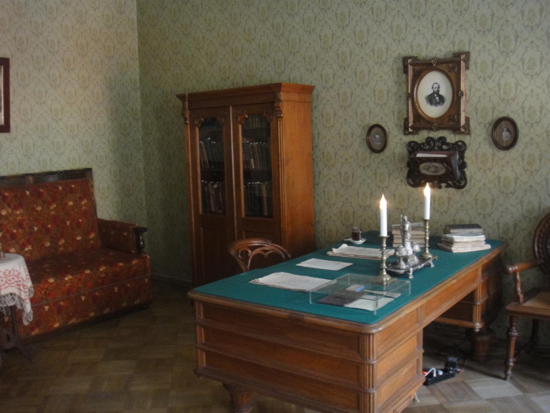 Fyodor Dostoyevsky's desk