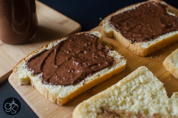 Brioche with Nutella