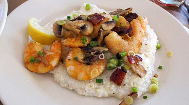 Hominy Grill. Shrimp & Grits