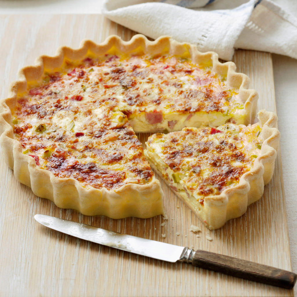 Quiche Lorraine (source: http://cookdiary.net)