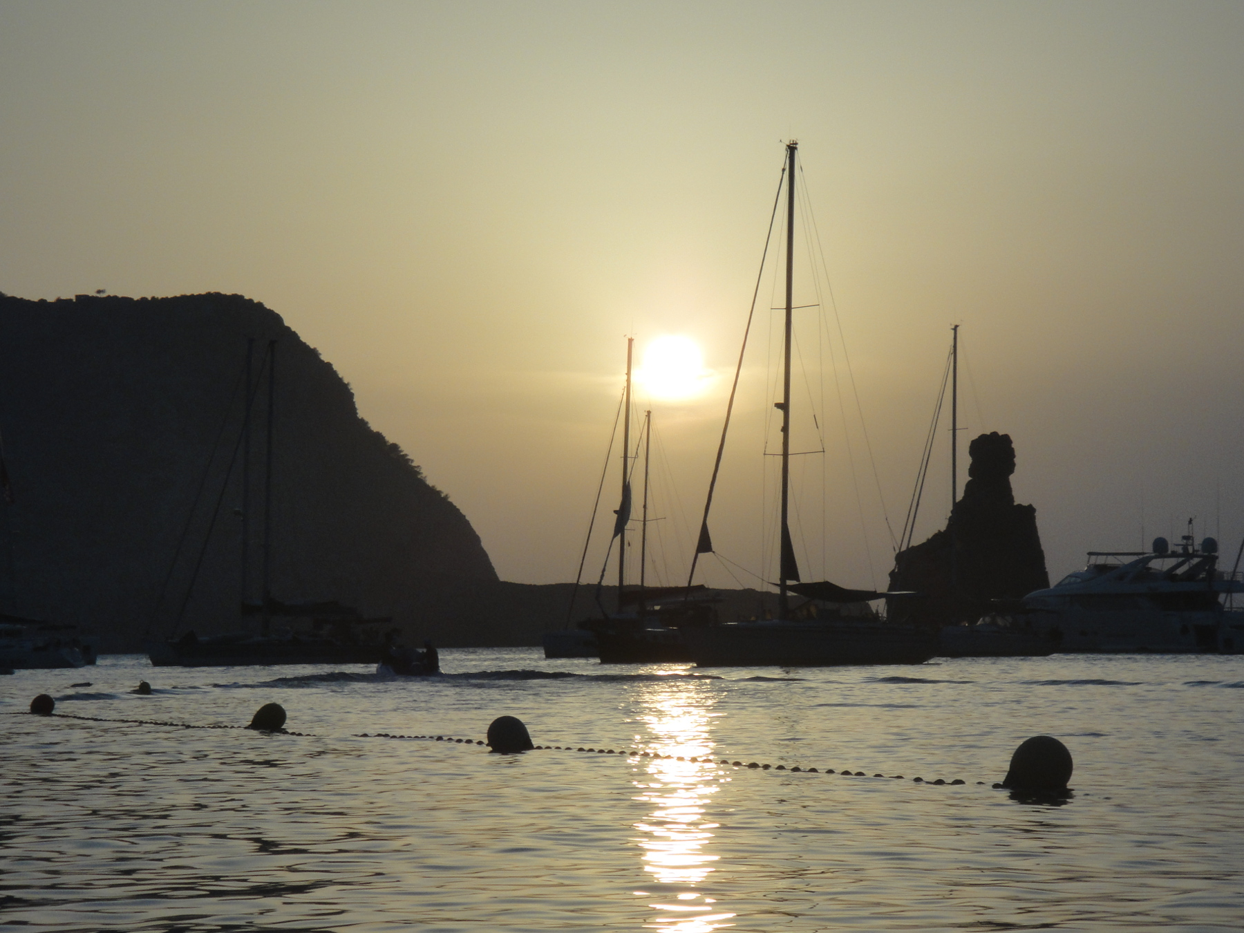 Sunset in Benirras, Ibiza