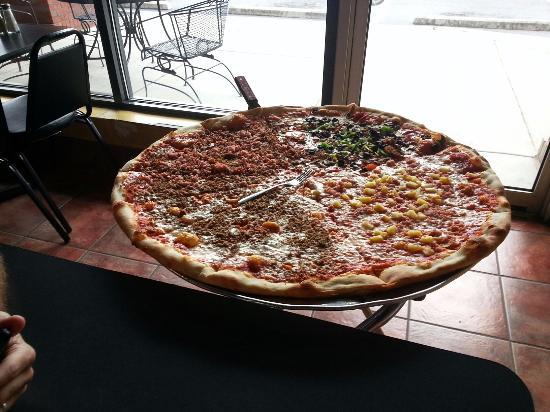 Big Pie in the Sky. Big Sky Pizza