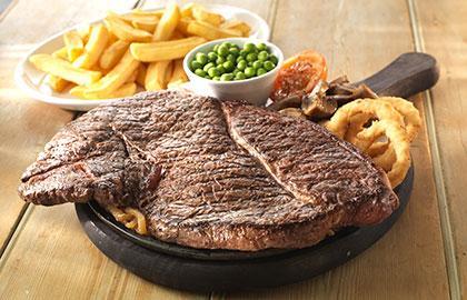 8 pounds Steak