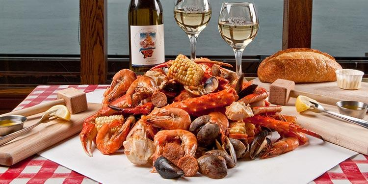 The Crab Pot. Seafeasts
