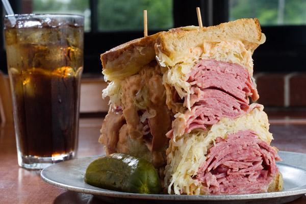 Katz's Deli. World Famous Deli Sandwich