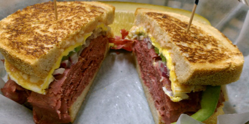Maize and Blue Deli. The Triple Play Reuben