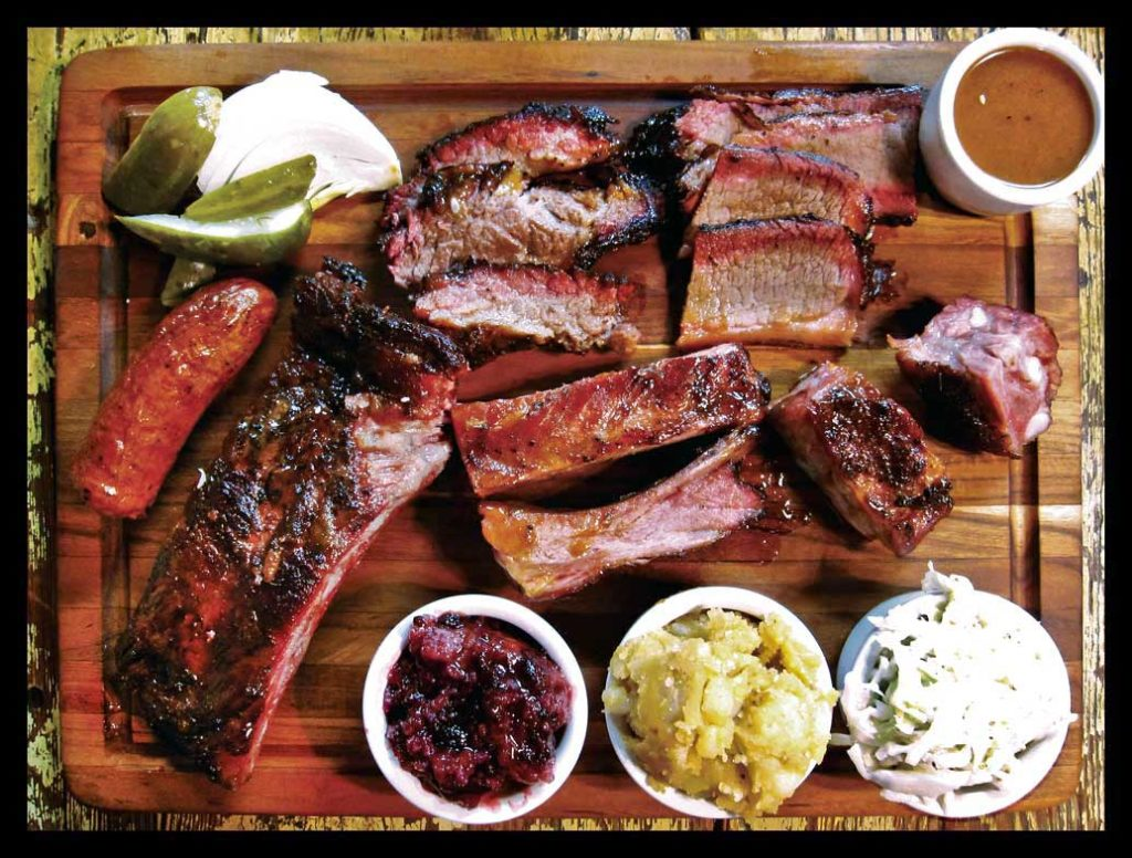 The Salt Lick BBQ. Probably the best BBQ in US