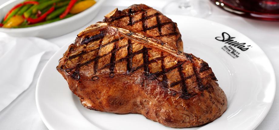 Shula's Steak House. The SHULA CUT® 48oz. Porterhouse Steak