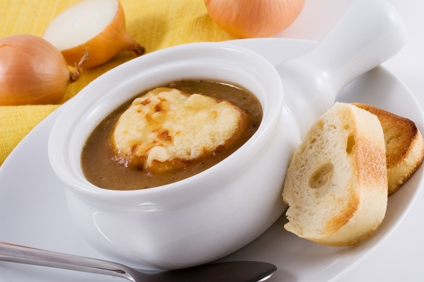 French Oniop Soup