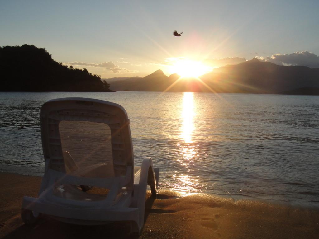 Angra dos Reis. Beach next to Vila Gale Hotel