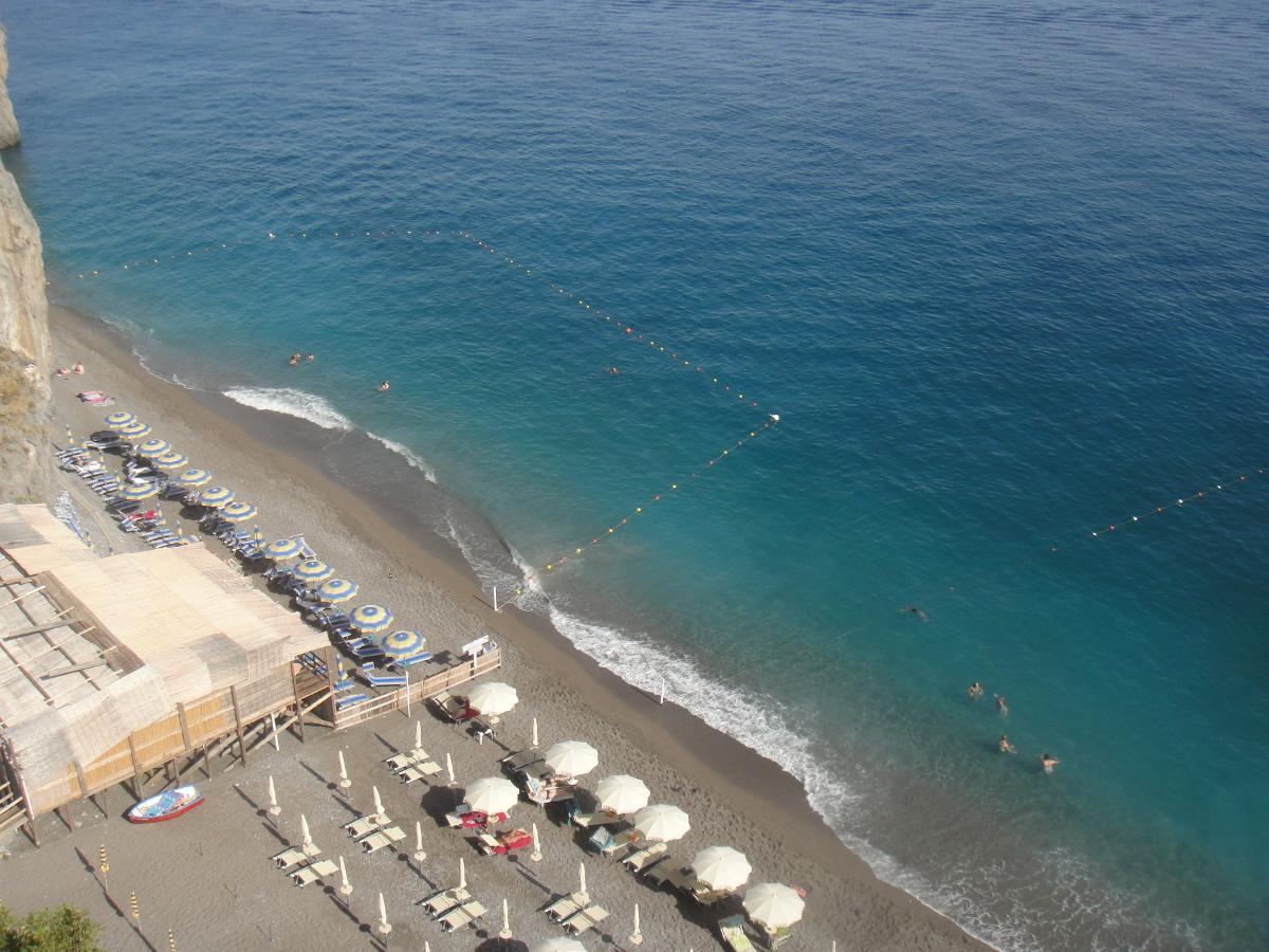 Duoglio beach, Amalfi