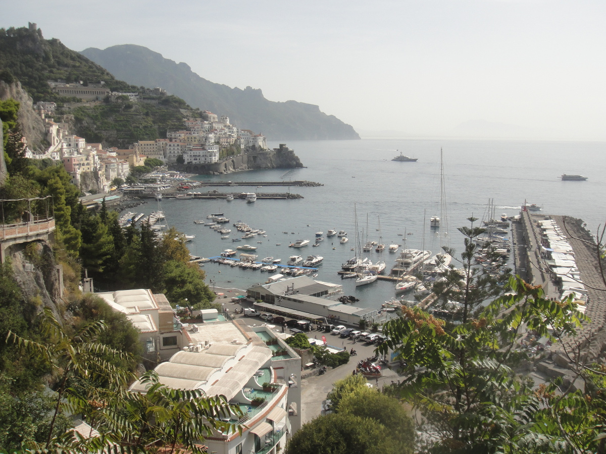 Amalfi's port