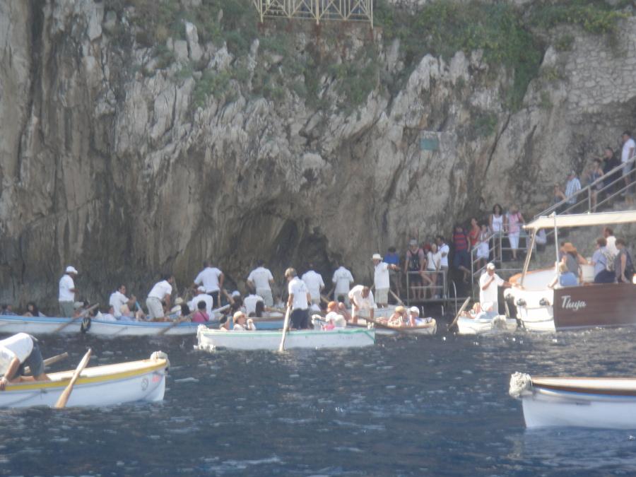 Blue Grotto's Queue