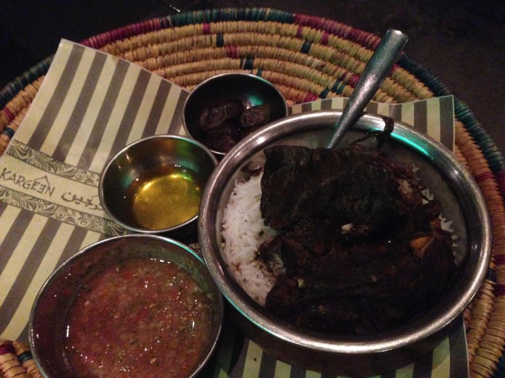 Shuwa. Traditional Omani food