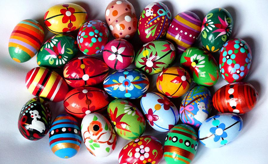 Pisanki eggs
