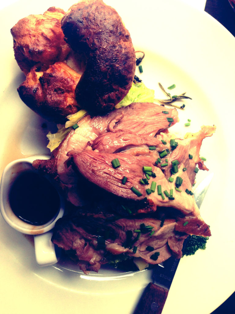 The Union Tavern. Roasted Lamb
