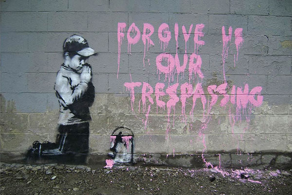 Forgive Us Our Tresspassing