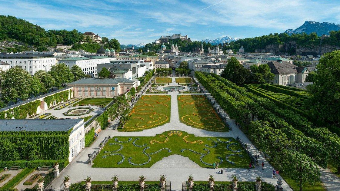 The Mirabell Gardens