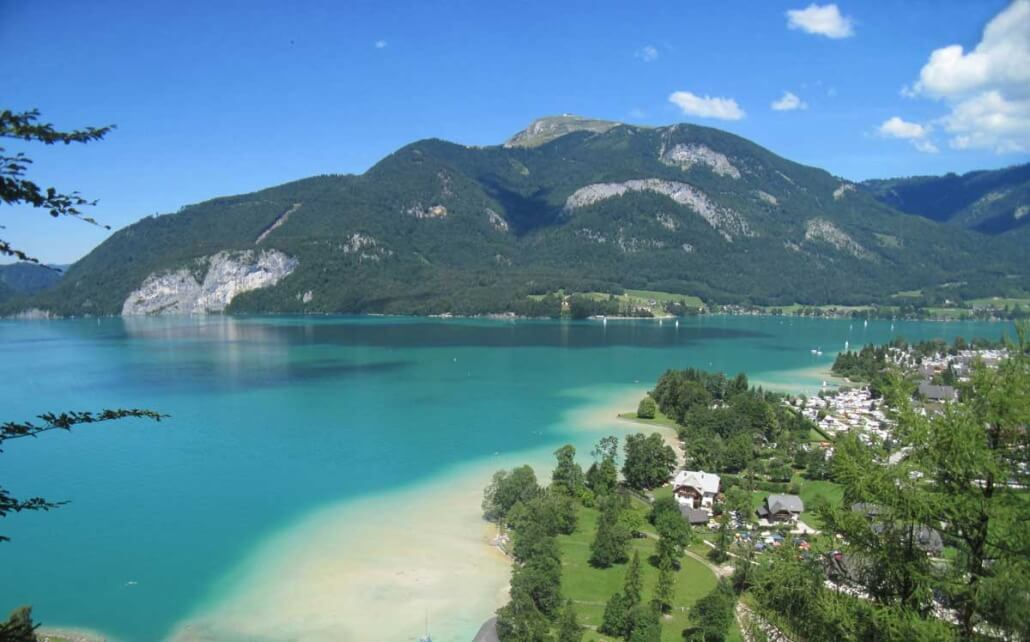 Wolfgansee Lake