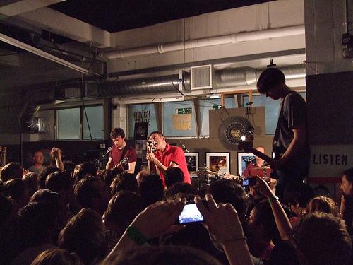 Blur's secret gig at Roughtrade East