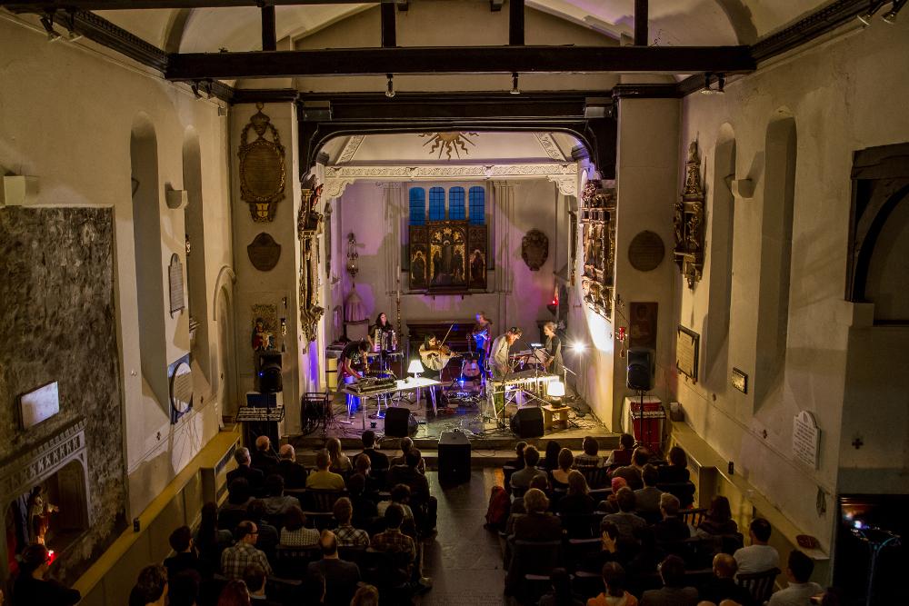 Jilk + Haiku at St Pancras Old Church