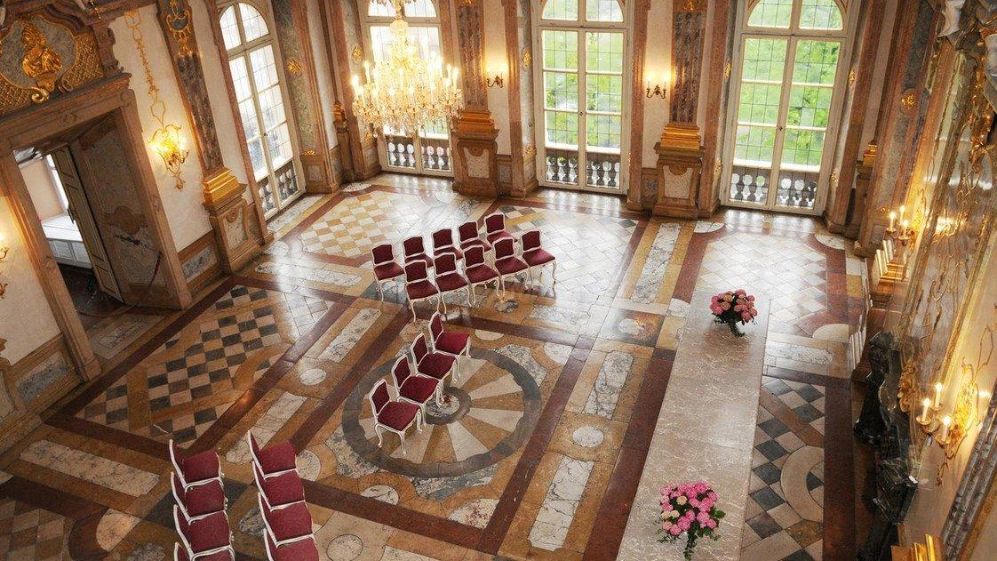 Schloss Mirabell Intimate Concert Set Up (source: salzburg.info)