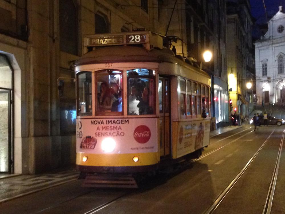 Lisbon's Tram 28