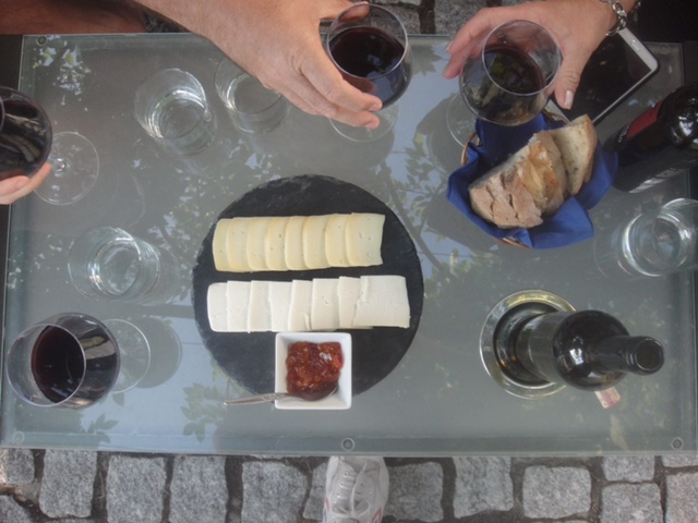More Wine Tasting and Cheese Pairing..