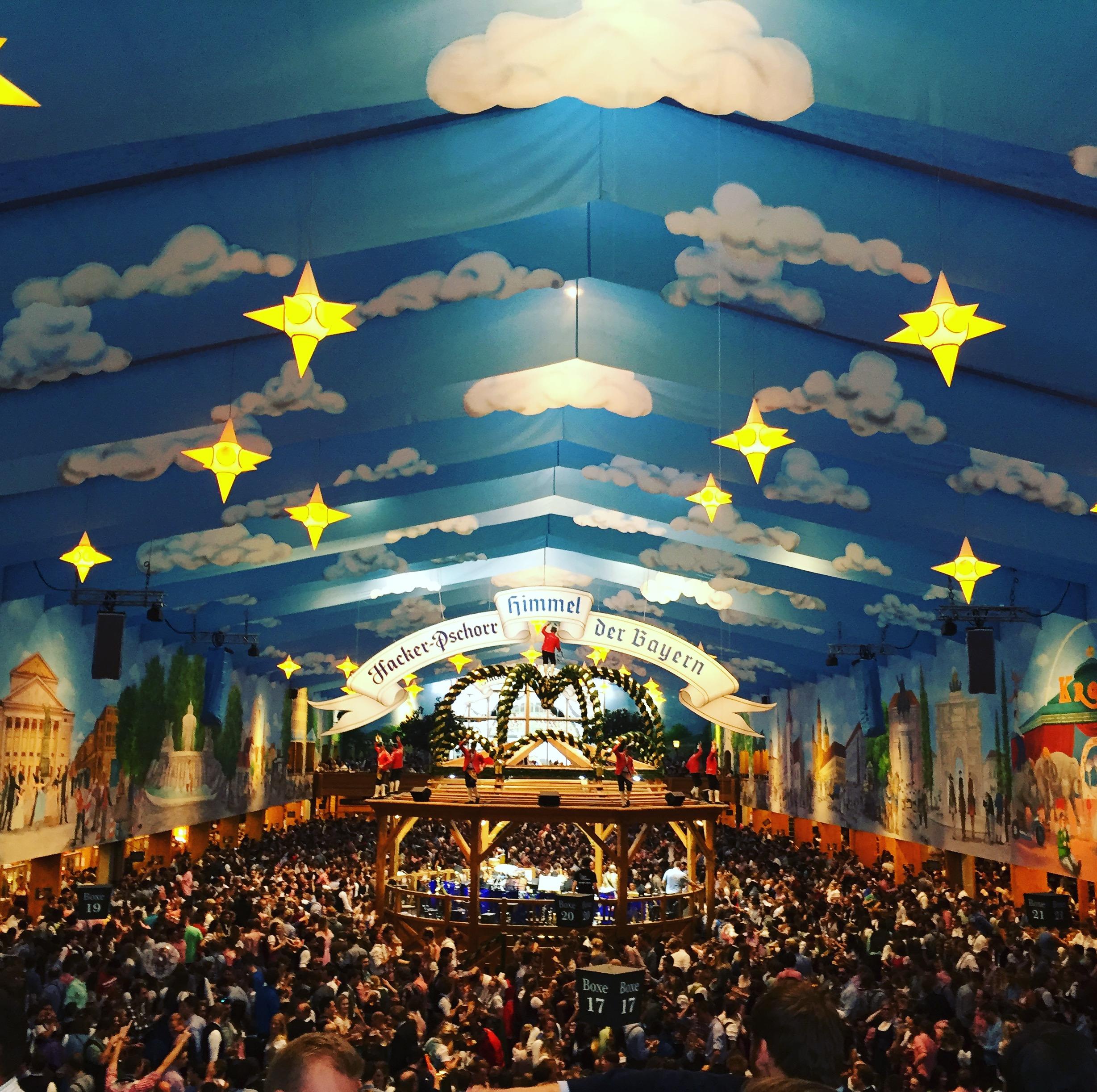 Hacker-Festhalle tent