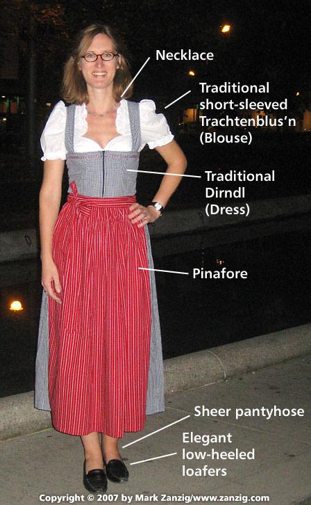 Bavarian dress for her