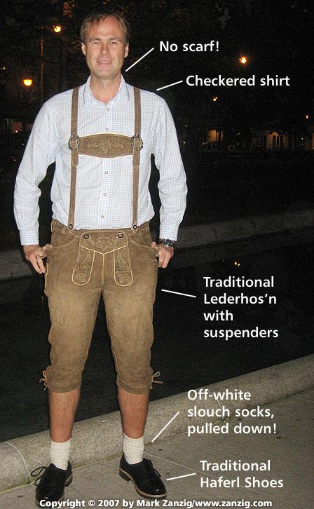 Bavarian dress for him