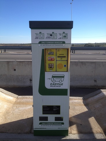 Electronic toll roads in Portugal
