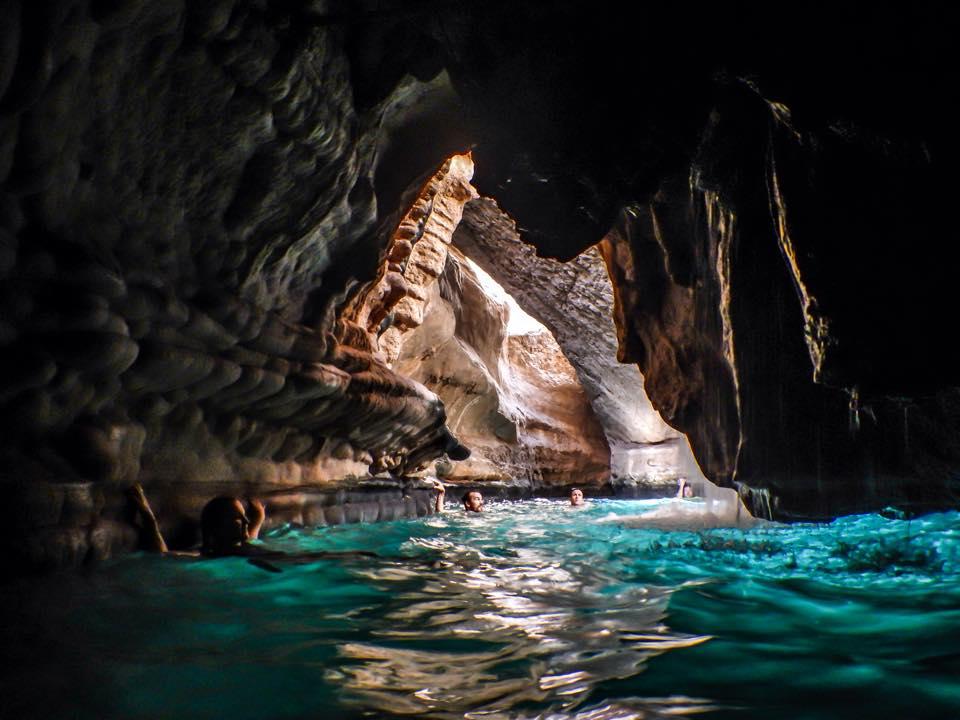 Wadi Shab's Cave
