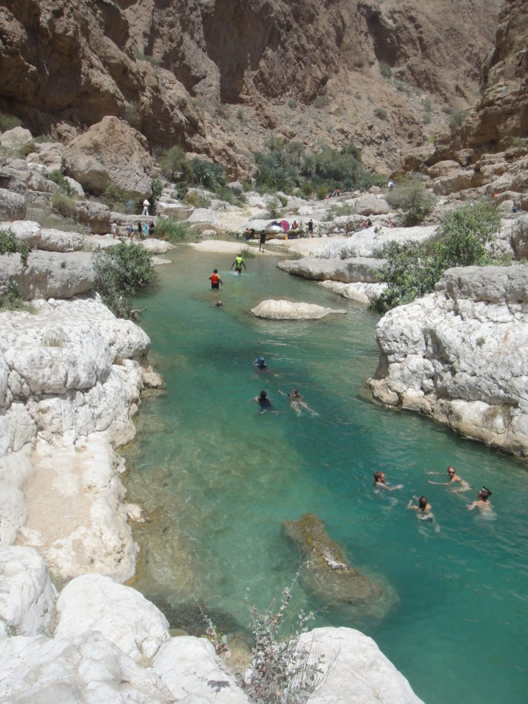 Contact Capital One >> Muscat day trip to Wadi Shab. Swim and hike at the valley