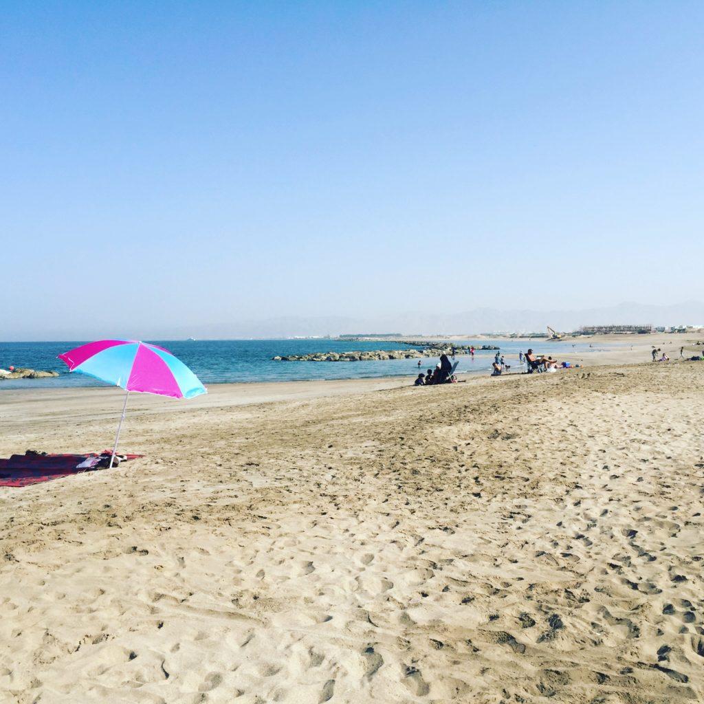 The Wave or Al Mouj's beach
