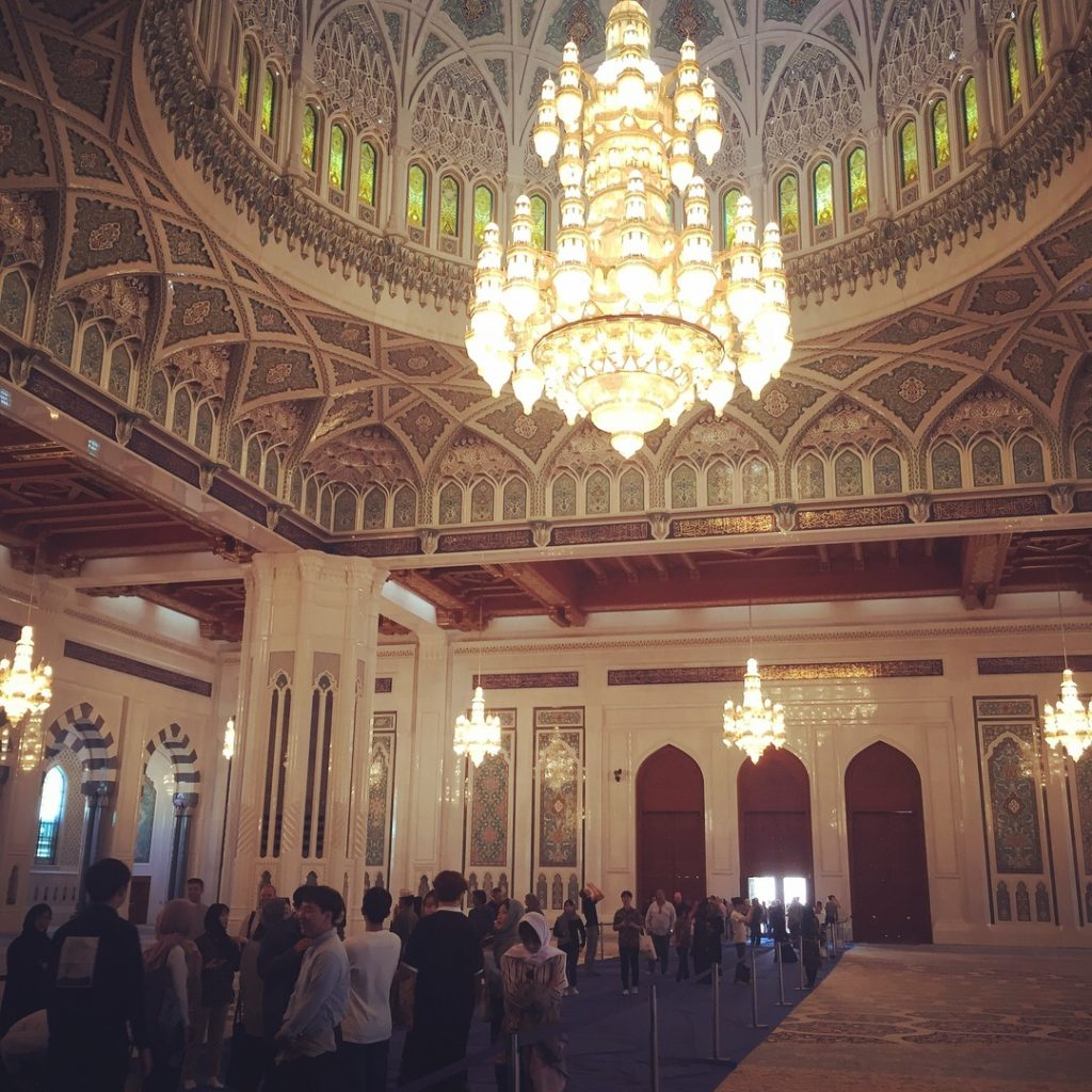 Grand Mosque's main prayer room