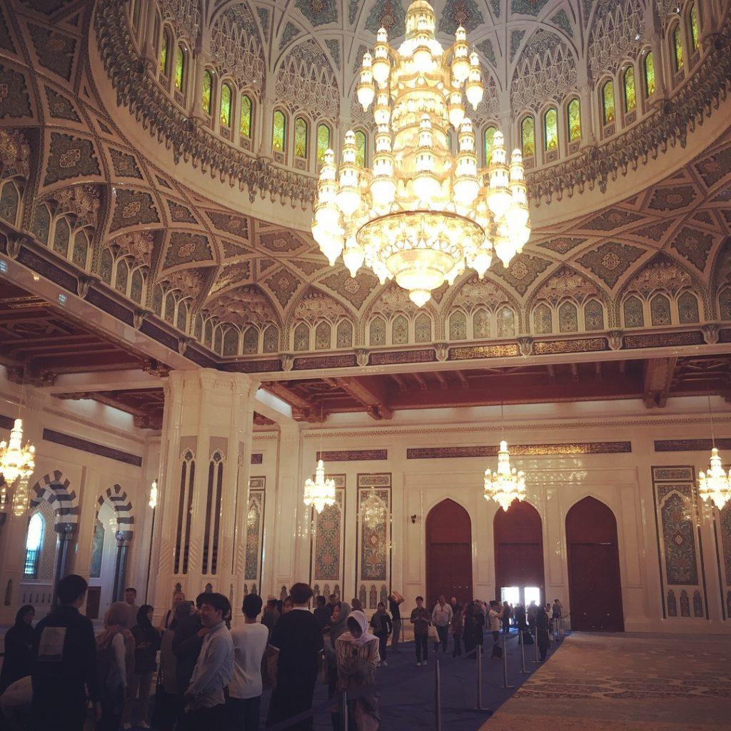 Grand Mosque's main prayer room
