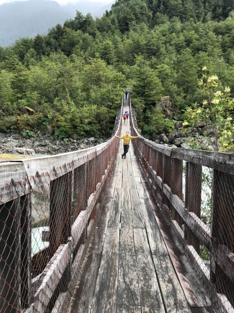Footpath to Queulat Hanging Glacier