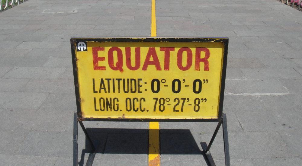 Equatorial line