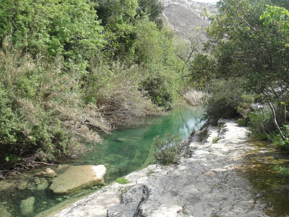 Cassibile river