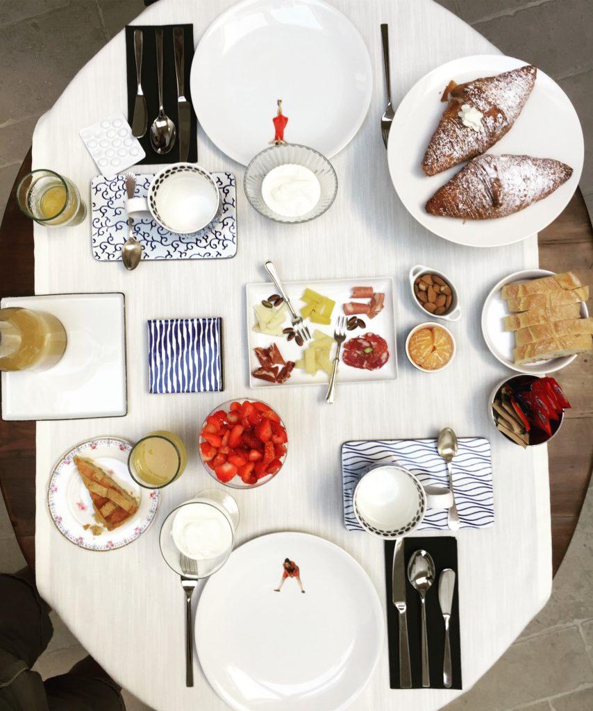 Notia Room's breakfast
