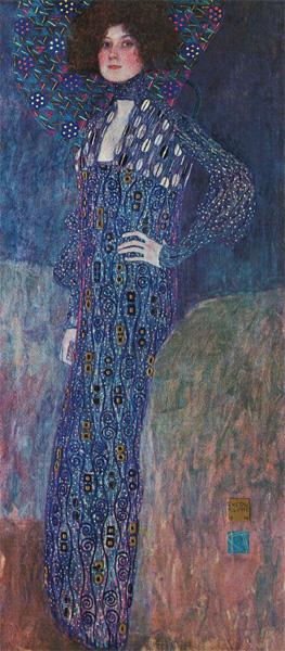 Portrait of Emilie Flöge
