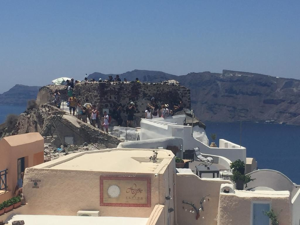 Oia's main viewpoint