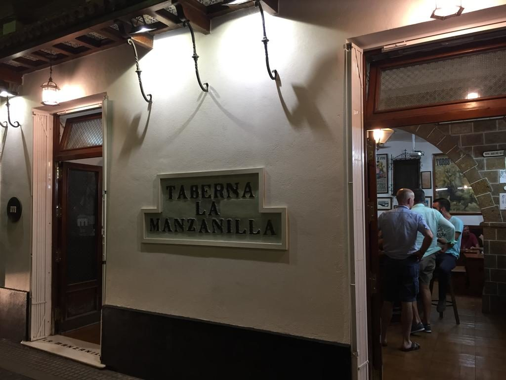 Entrance to the taverna