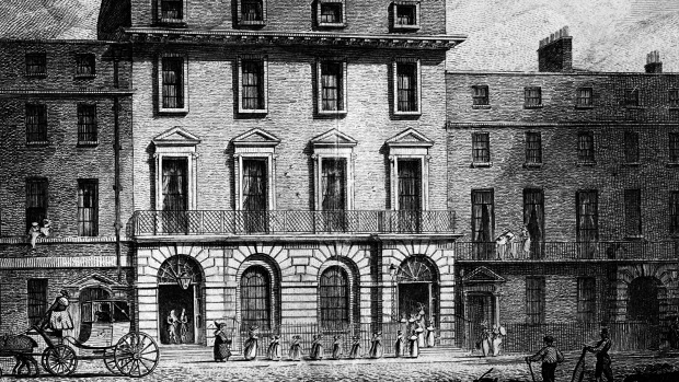 The old Freemason's Tavern in Covent Garden, London (Photo: The FA)