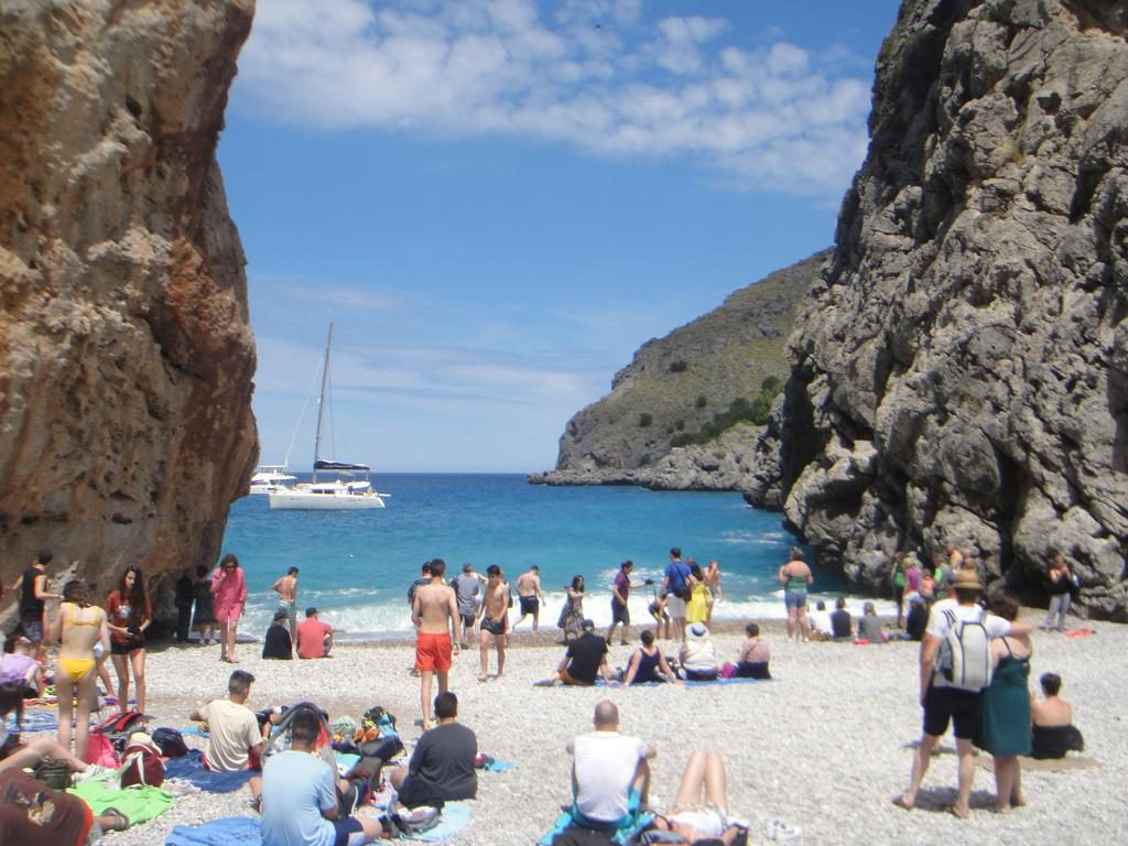 Torrent de Pareis's beach