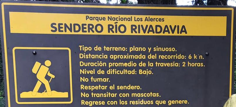 Rivadavia River Trail